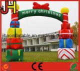 Im Freienweihnachtsdekoration-aufblasbarer Partei-Bogen