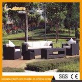 Rota al aire libre de los muebles del jardín del nuevo estilo simple del diseño/conjunto de mimbre del sofá del salón