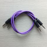 cavo aus. 1m della zona dell'audio 4poles di 3.5mm