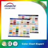 専門アーキテクチャ壁のペンキのためのカラーカード目録