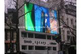 잘 고정된 전시를 광고하는 옥외 풀 컬러 P10 LED