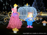 Motif LED Christmaslight休日の装飾の王女