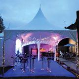 5X5m Aluminium-Familien-Ereignis-Pagode-Zelt für Verkauf
