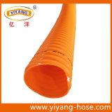 Mangueira de sucção ondulada de PVC / tubo espiral