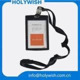 Plástico duro RFID do ABS popular que obstrui o suporte de cartão do crédito
