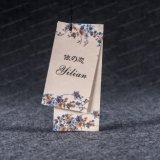 Vestuário especial de vestuário de vestuário Impressão de papel Pendurar Tag