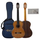 Classe elevada Handmade toda a guitarra clássica espanhola do vintage contínuo