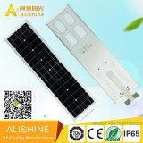 réverbère solaire Integrated complet de 60watts DEL avec la batterie au lithium LiFePO4