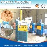 Presse verticale d'herbe de vente d'usine/machine hydraulique de presse de foin