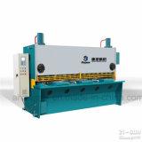 Machine de tonte de massicot hydraulique de commande numérique par ordinateur de série de QC11k