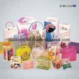 De duidelijke Plastic Vouw die van pvc de verpakking Afgedrukte Levering aan eindgebruikers van de Doos vouwt