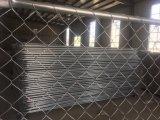Загородка цепной конструкции провода временно стальная обшивает панелями 6FT x 12FT