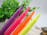 Pena de marcador da escova da cor de água macia