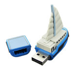 Chyi USB 2.0 Pendrive Blue Sailboat Boat Modelo 2GB 4G 8g 16g 32GB 64GB Navio Mini USB Flash Drive Pen Drive Memory Stick U Disk