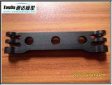 El rojo de aluminio barato del prototipo del CNC del departamento de máquina del CNC anodiza