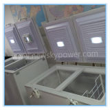 Énergie solaire profonde Refrigertator avec le congélateur