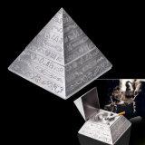 Cenicero van het Asbakje van Egypte Pyramidsfigure van het Decor van het huis het Uitstekende Asbakje van de Sigaret van de Auto (S-eb-129)