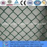 Q195 Quente Quente Galvanizado Ferro Green Chain Link Fence