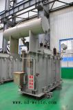 les enroulements 110kv deux, débarquent le transformateur d'alimentation de Distriution de Voltage Regulation