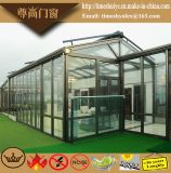 Зеленая дом с структурой двойной застеклять и алюминиевый сплава
