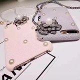 Três lados envolvidos tecido rígido caso do telefone móvel para iPhone 7 Case