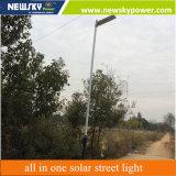 vendita calda 30W esterna tutti in un indicatore luminoso di via solare della lampada di 30W LED