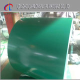 La couleur a enduit la bobine en acier enduite d'une première couche de peinture galvanisée de PPGI