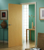 Portas de madeira brancas da pintura interior econômica (SC-W076)