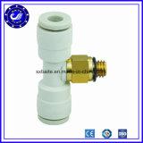 Ajustage de précision rapide pneumatique de tuyaux d'air de durites de la Chine d'embouts de tube pneumatique de garnitures rapides en plastique pneumatiques d'ajustage de précision