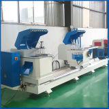 O perfil de alumínio Porcess considerou a máquina/máquina dobro da serra de cabeça