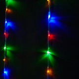 diodo emissor de luz Christmas Wedding Decorative Indoor Outdoor Curtain Light de 3X3m
