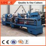 Cw6163鋼鉄のための軽量高精度の水平の旋盤機械