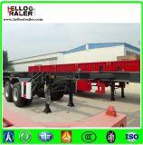 2 de Aanhangwagen van het Skelet van de Container van assen 20FT 30ton voor Verkoop
