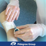 Устранимые перчатки винила для экзамена