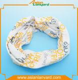 Bandana de polyester de promotion avec le logo d'impression