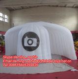 De Opblaasbare Tent Photobooth van Airblowing met LEIDENE Lichten