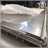 Placa laminada a alta temperatura do aço X6crninb18-10 inoxidável