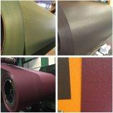 """Le matériau PPGI de panneau """"sandwich"""" a enduit la bobine d'une première couche de peinture en acier galvanisée enduite par couleur"""