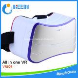 Glace toute de virtual reality dans une avec des glaces de système Vr
