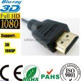 Микро- HDMI к кабелю HDMI для камкордеров HDTV Cellpbone (SY094)