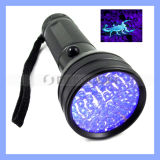 AluminiumCsi Forensic Blood Urine 51 LED UVFlashlight für Scorpion Hunting