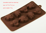 Bac à glace au chocolat en silicone