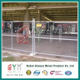 Панели загородки звена цепи дешево 6FT временно/гальванизированная загородка звена цепи