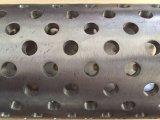 Pipe perforée d'enveloppe de l'acier inoxydable 304 pour l'asséchage de mine de base
