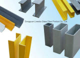 Perfil de la fibra de vidrio FRP Pultruded con calidad del Calor-Resiatant
