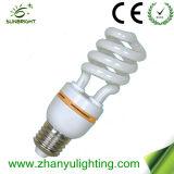 medios bulbos ahorros de energía espirales de 15W T4