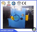 Máquina hidráulica QC12k do feixe do balanço do CNC 40X5000 do corte e de estaca