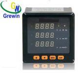 Gwm 300u-3 Dreiphasenmeßinstrument des vertrags-AMP/V (LED)