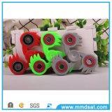 Inquietação plástica do girador do ABS do girador da mão com rolamentos