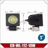 """2.6 """" 10W het Nieuwe LEIDENE van de Vorm CREE Licht van het Werk (CH-wl-112-10W)"""